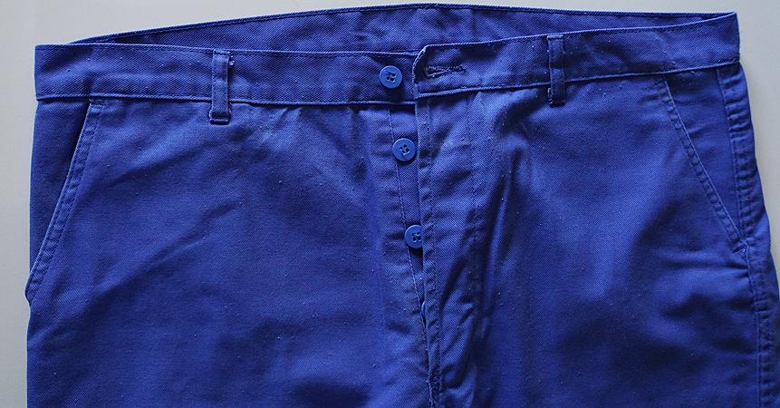 pantalon de travail polycoton bleu bugatti usage t52. Black Bedroom Furniture Sets. Home Design Ideas